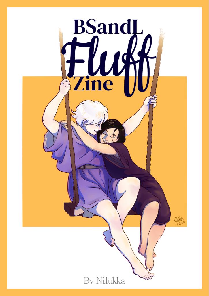 Cover / kansi BSandL Fluff Zine